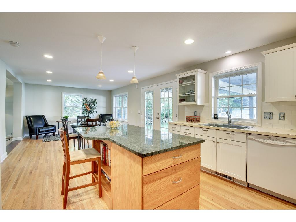 What a delight! The Kitchen is open to a sitting room space which can easily be used as whatever meets your lifestyle needs, family room, breakfast room, you name it!