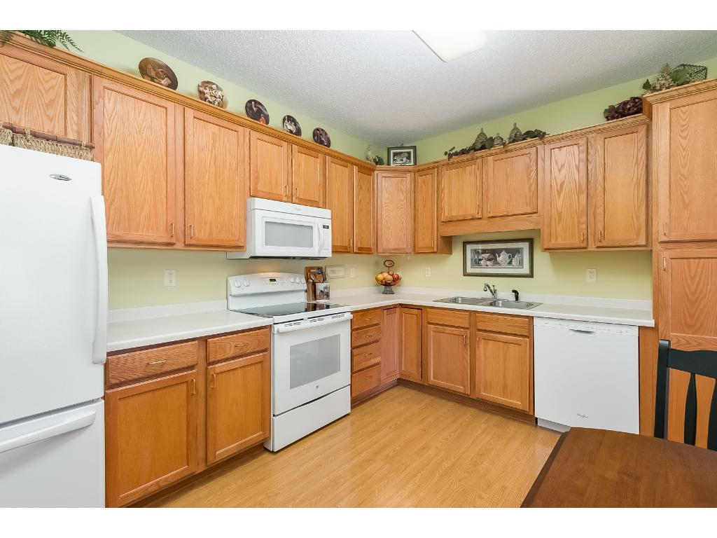 Great work space to prepare meals and entertain friends and family. Lots of storage space in the cupboards and pantry. Never worry about any appliances breaking, they are all fully covered by the Applewood warranty.