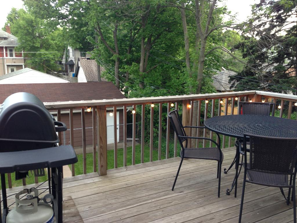 Unit 2 back deck