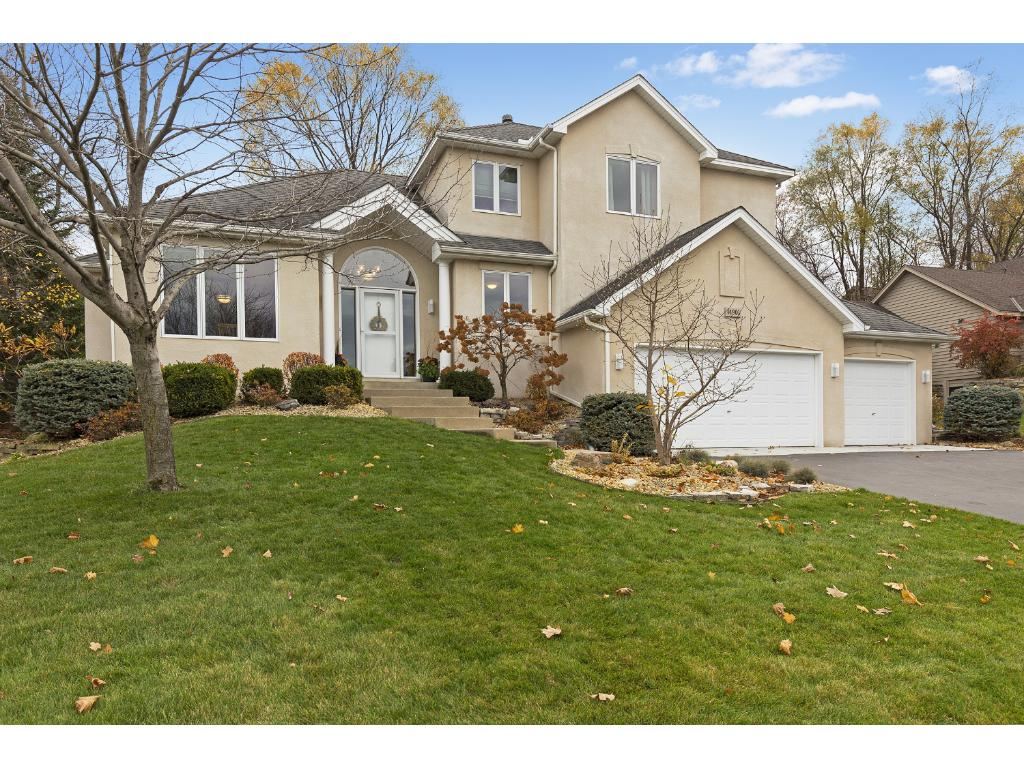 Custom built home boasts a beautiful professionally landscaped lot in the Oak Ridge neighborhood