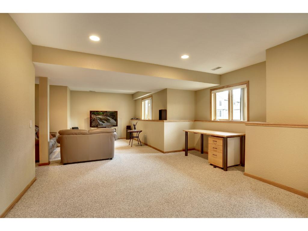 Spacious lower level offers more room for relaxing or entertaining. Additional non-conforming bedroom in lower level could be used for an office, exercise room, play room, hobby room or other space of your choice.