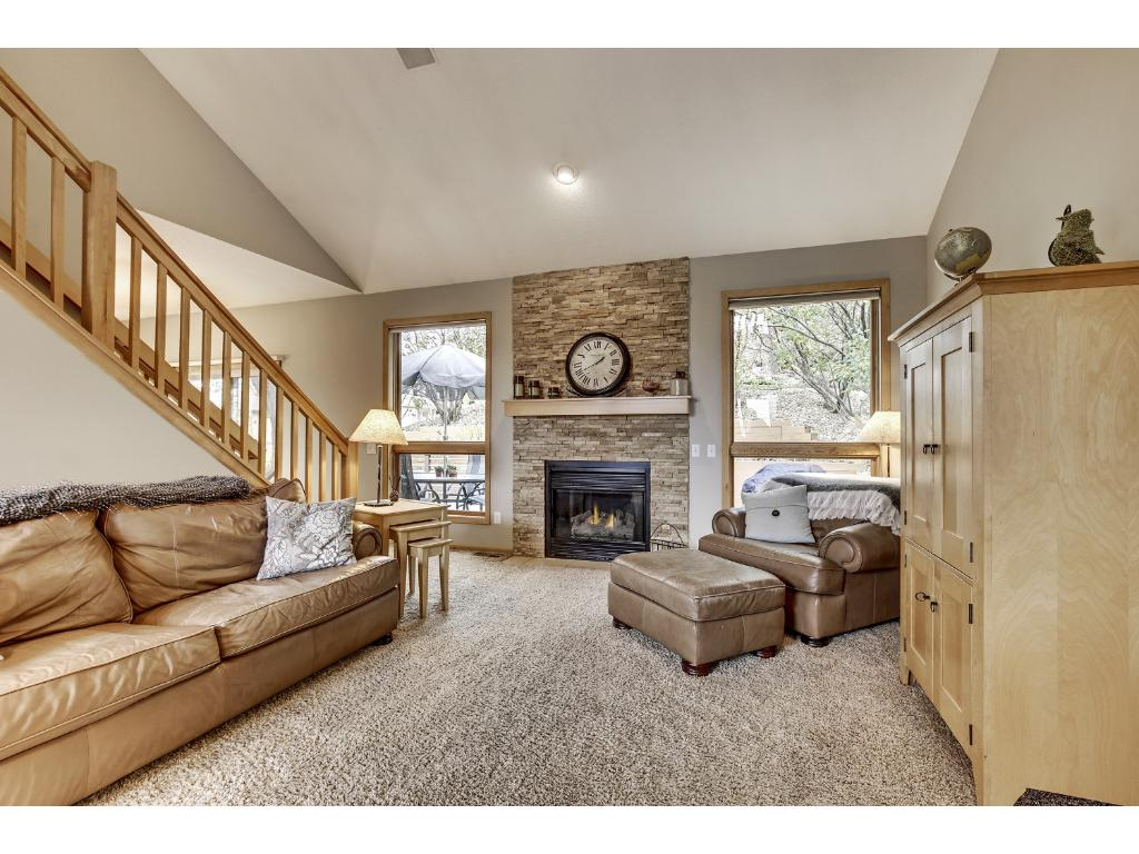 Welcoming main level offers an open floor plan perfect for entertaining! The great room opens to the informal dining area and kitchen.