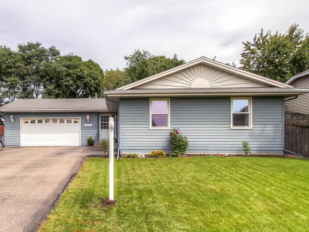 Updated 4 bed/3 bath home with 3 bedrooms on the main level.  Beautiful private backyard!