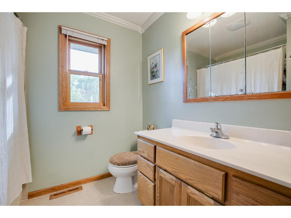 Updated upper bathroom