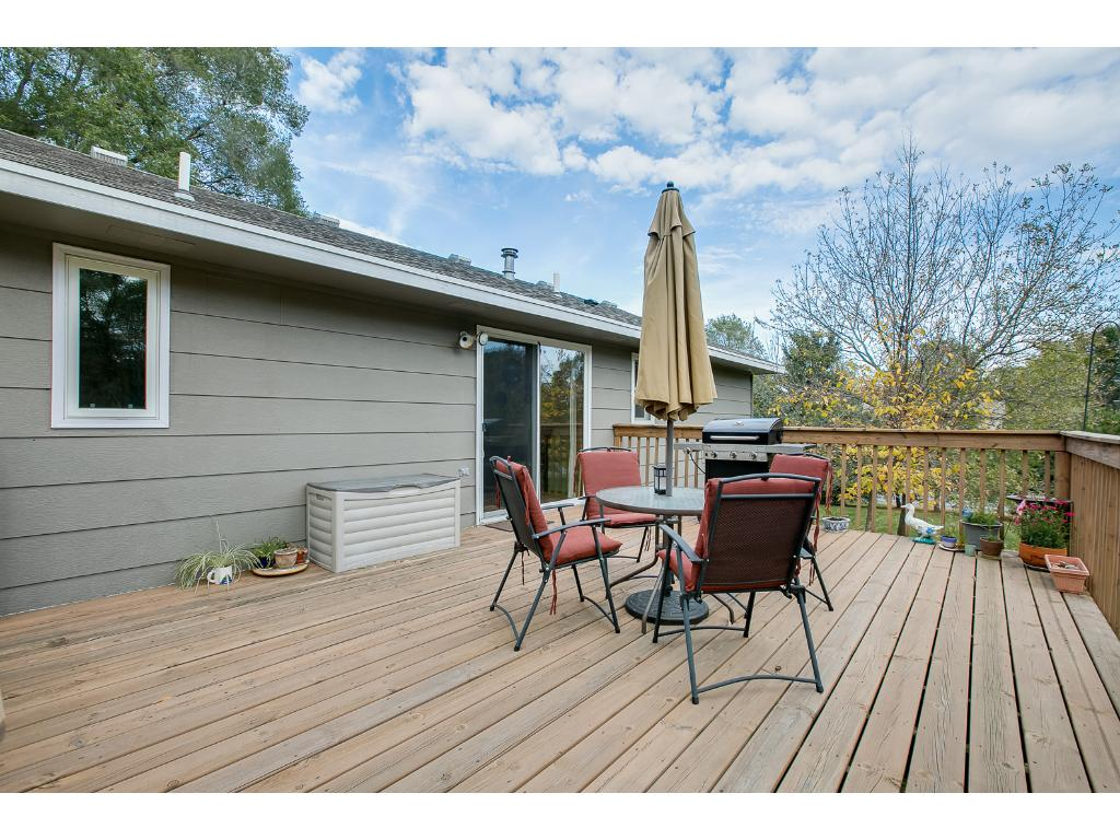 Enjoy your morning coffee right from this great deck