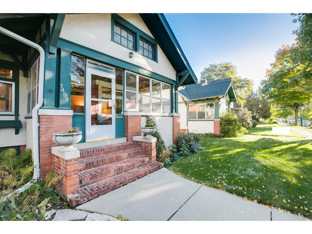 Wonderful 1 1/2 story craftsman bungalow with plenty of charm and character throughout!