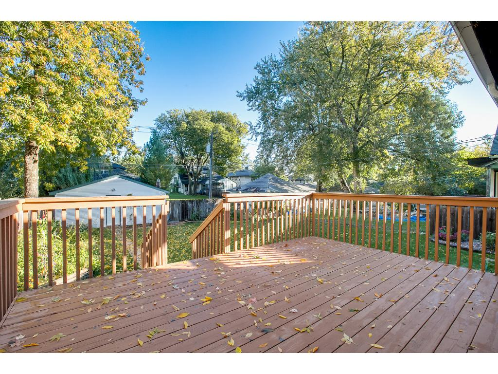 Relax or entertain on this wonderful deck!
