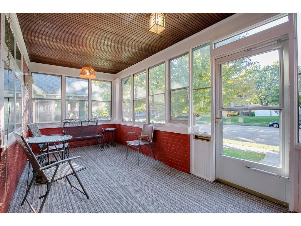 Terrific south facing porch overlooking popular Grand Avenue!