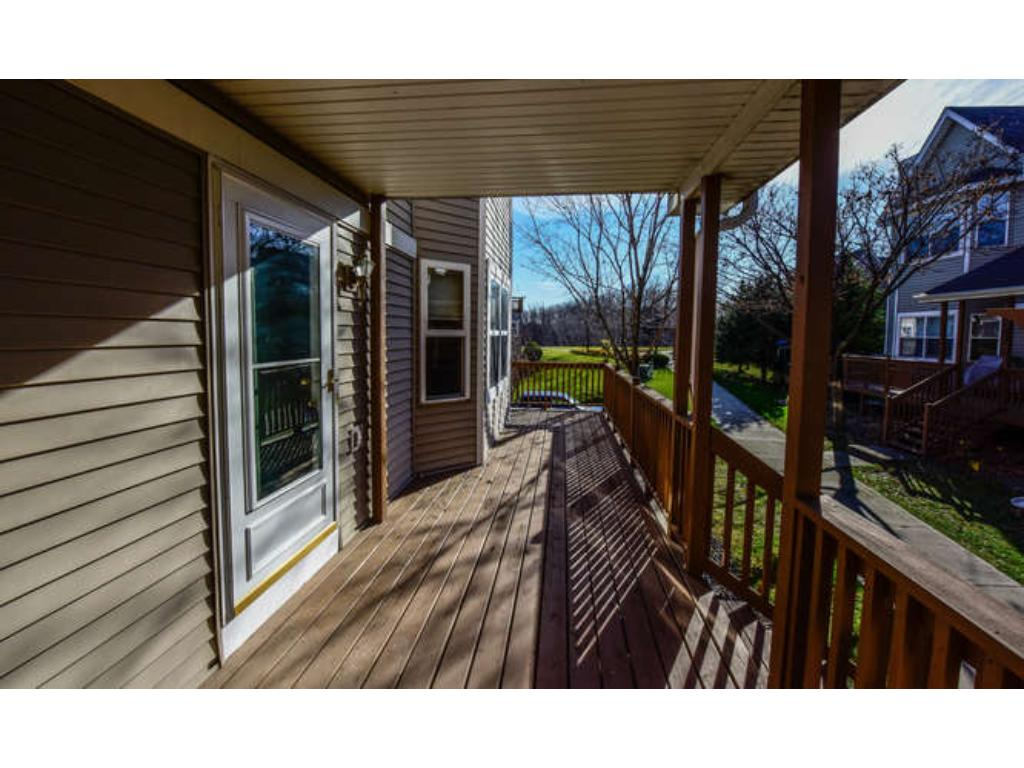 Spacious front porch to enjoy bar-b-ques on or just sit back and relax.
