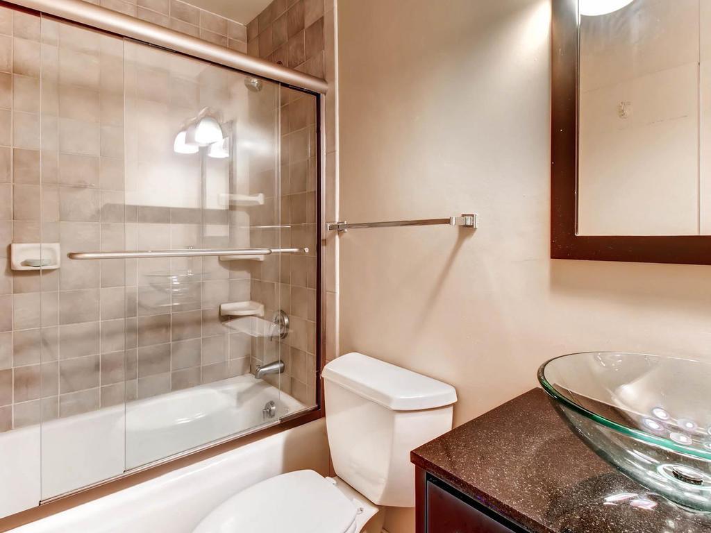 Modern updated Master Bath