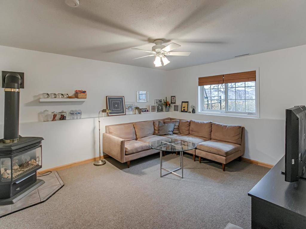 Fantastic lower level family room