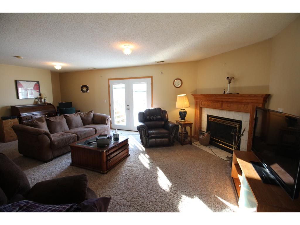 Large main level family room.  Perfect for family gatherings.