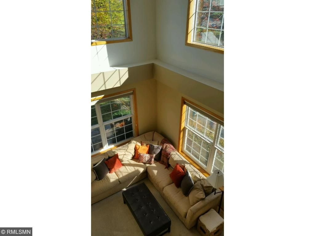 View from the loft!  Love how the sunshine fills the space!