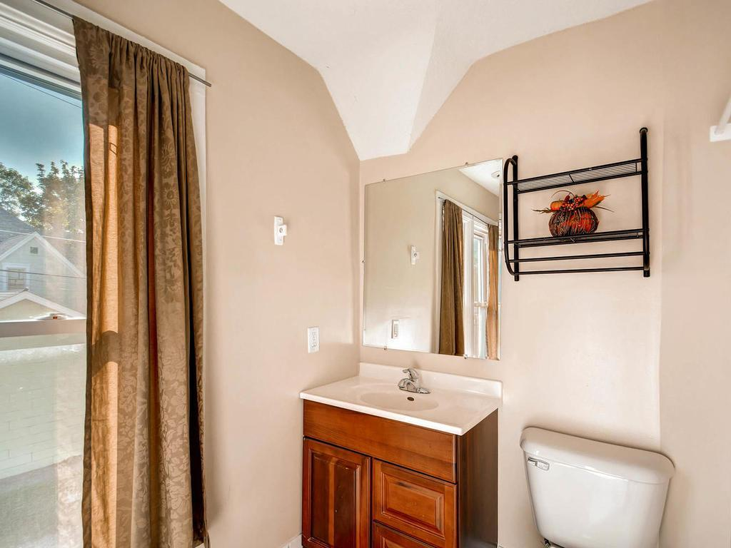 The updated bath is sure to please.  Elbow room to move will make morning preparations go smoother for everyone!