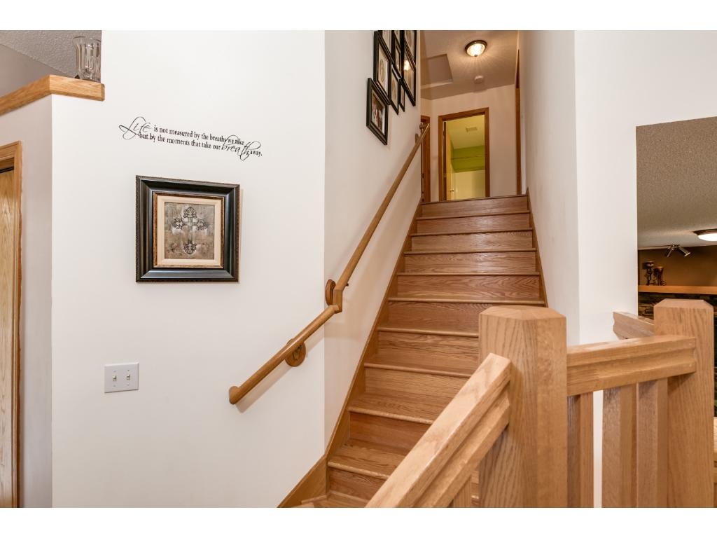 Stairway leading to Upper Level