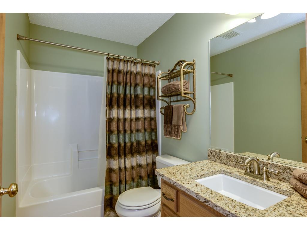 Upper level guest bathroom