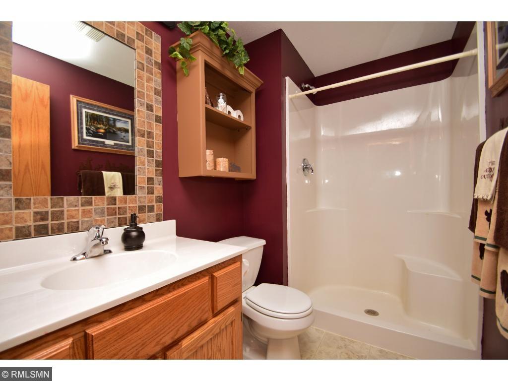 Three quarters bathroom in basement