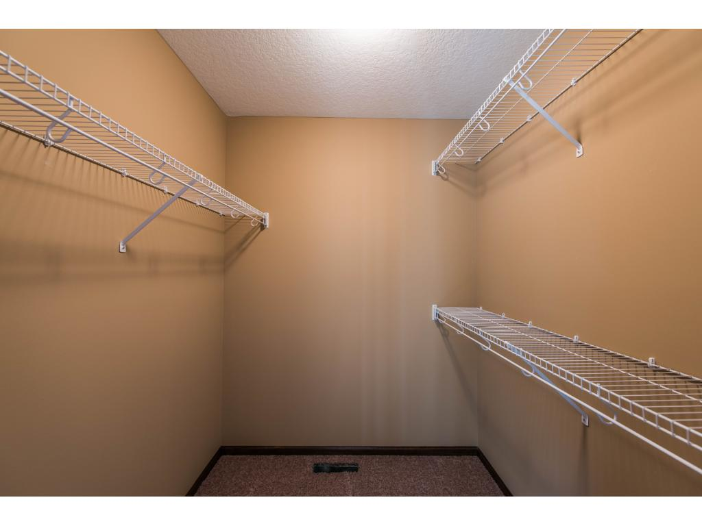 The Master Walk In Closet gives you plenty of space for everything.