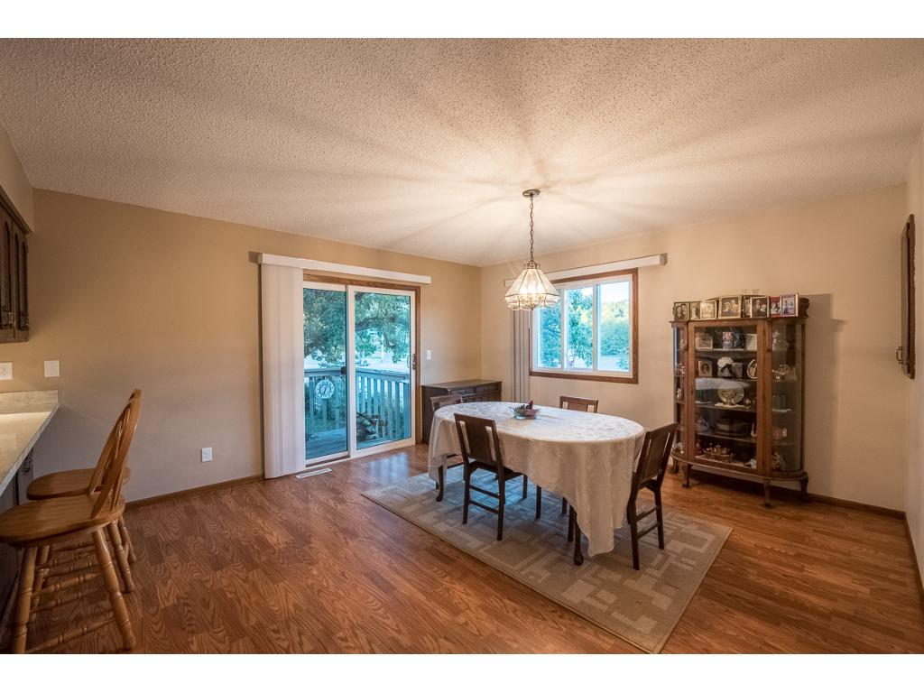 Plenty of space for a large dining room table!