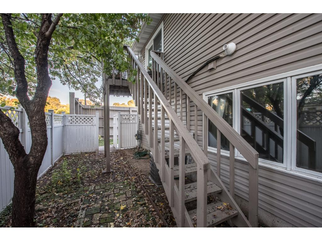 Your own private patio! Virtually unheard of with townhome living!