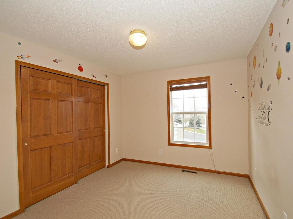 Large 2nd bedroom on the upper level!