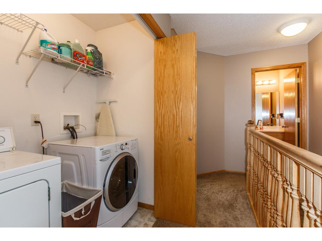 Laundry room on the 2nd floor.