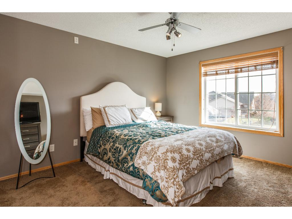 Master bedroom with tons of natural light.