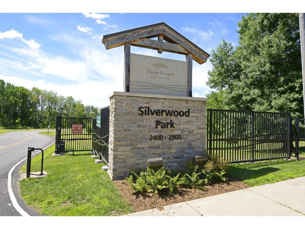 Silverwood Park nearby. Trails, beach and more.