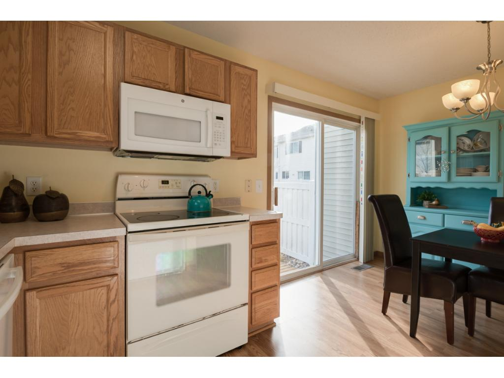 You'll enjoy preparing meals in the spacious kitchen.