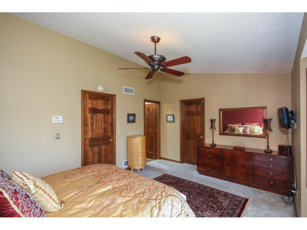 The master also includes an updated bath and a huge walk-in closet with additional storage space!