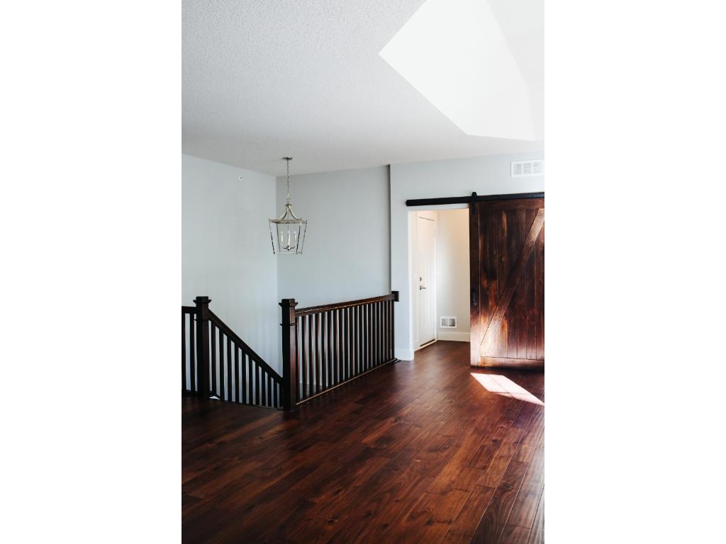 Gleaming hardwood floors through out main level