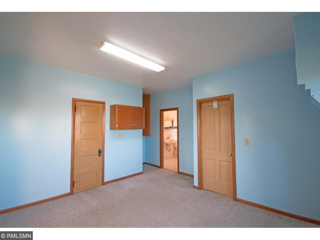 Easily divided for desired privacy on the main level..these two rooms have been used in the past for a family member who needed to live on a one level floorplan.  Attached to the 3/4 bath with grab bars, walkthrough to the kitchen and living room