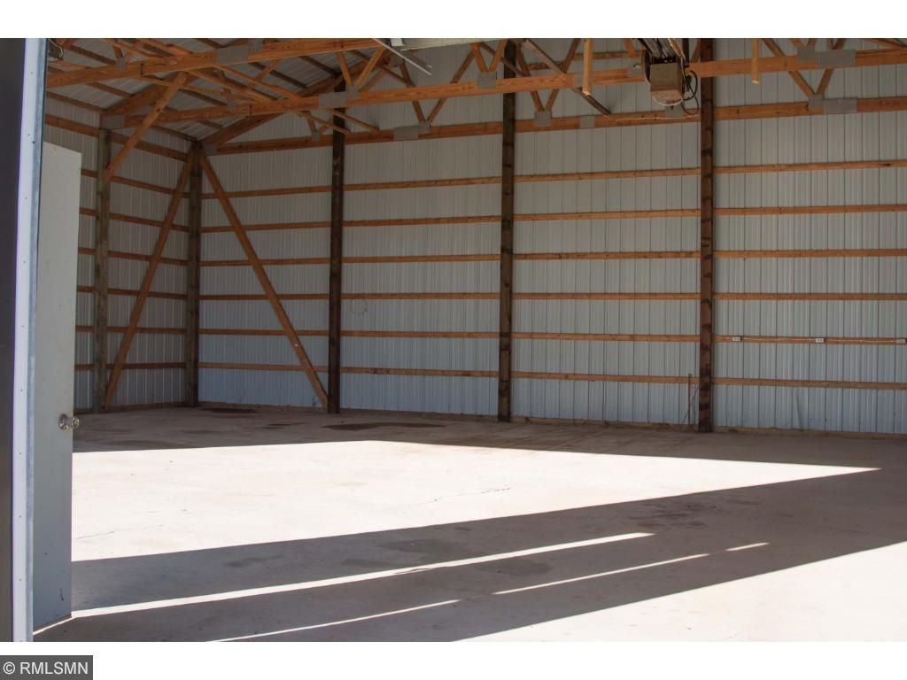 Pole barn with concrete floor and electrical service..amazingly clean!