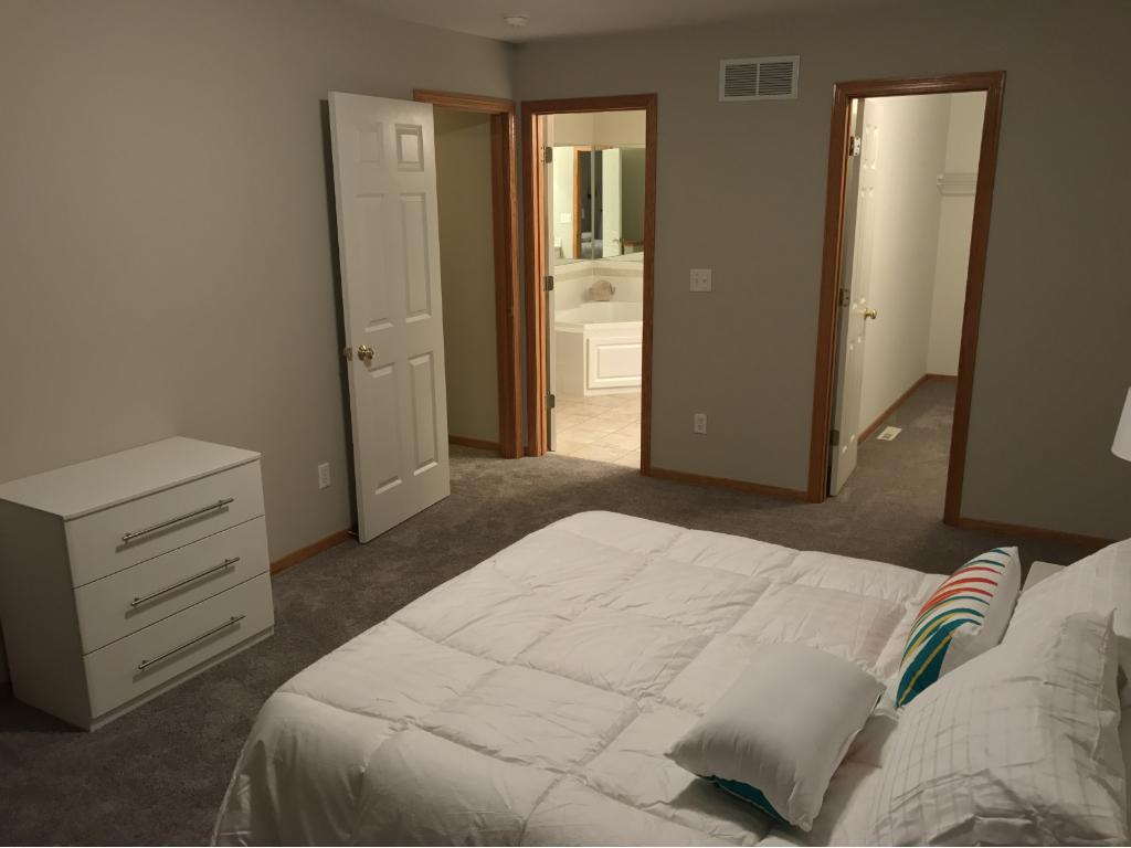 And Large Master Suite and Closet...