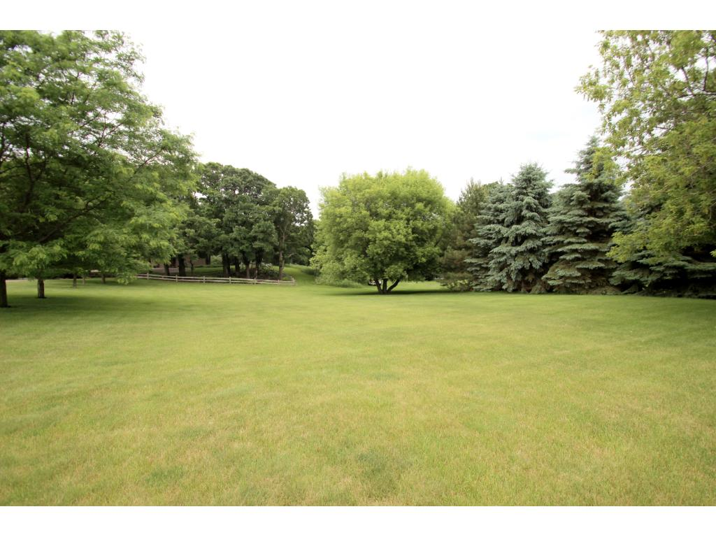 Incredible yard space - both wooded & open!
