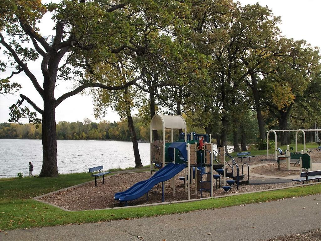 Children will love the exciting playgrounds