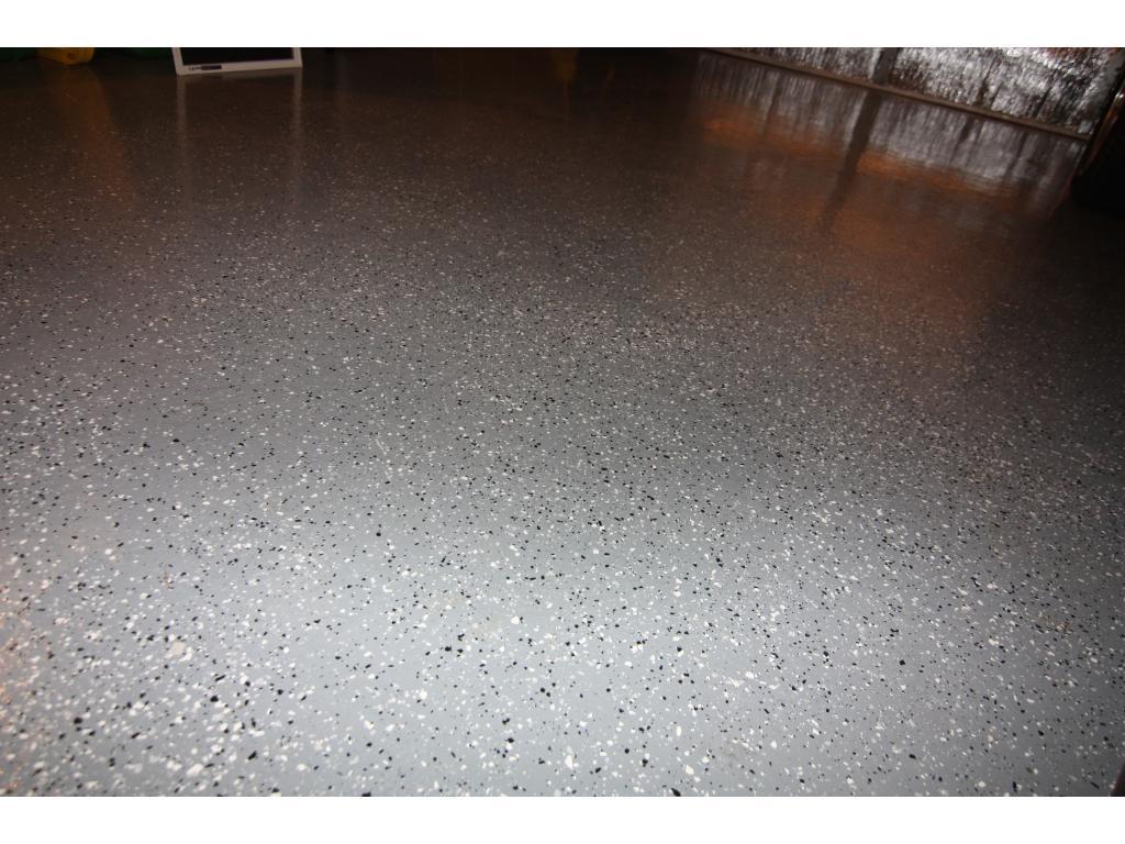 Heated Garage w/Epoxy Floor