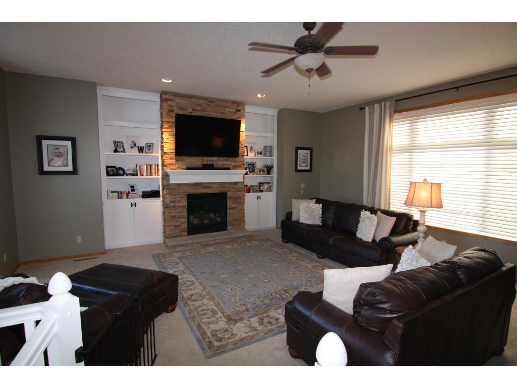 Living Room, natural light flows in