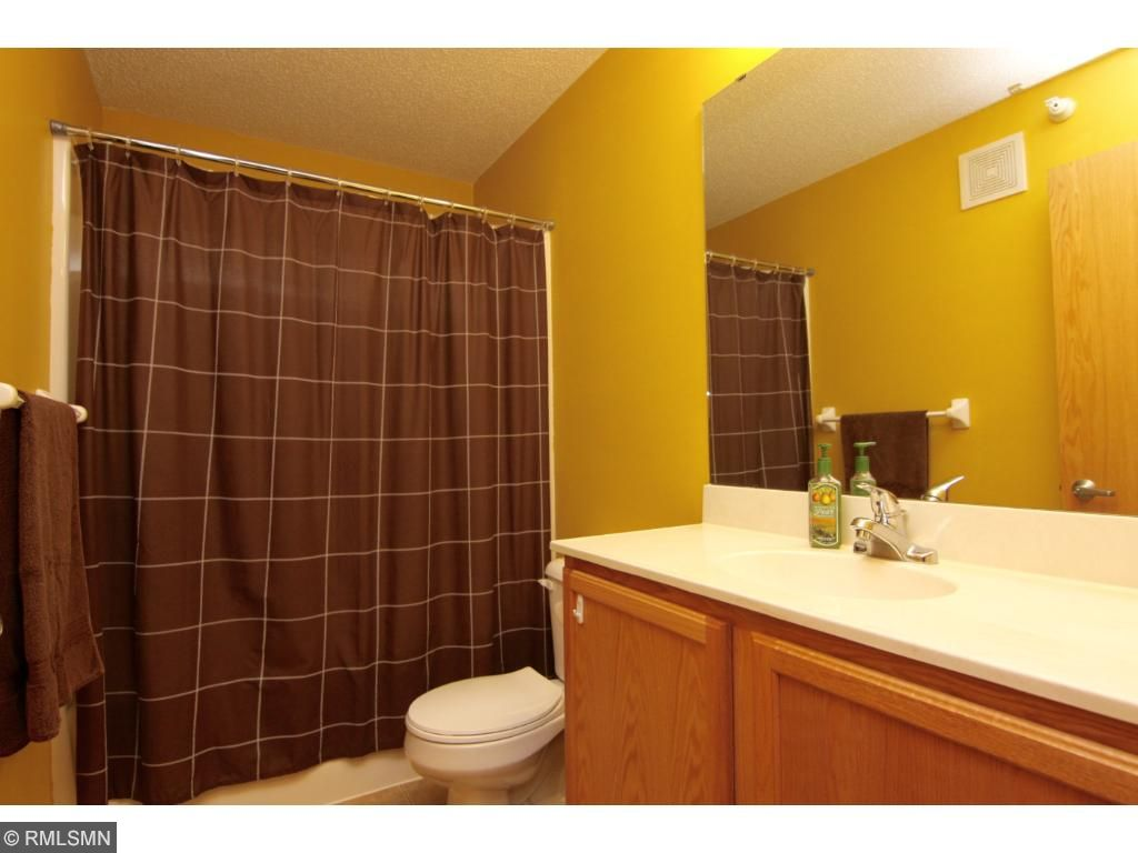 Bathroom number two is a guest bath and for bedroom two.