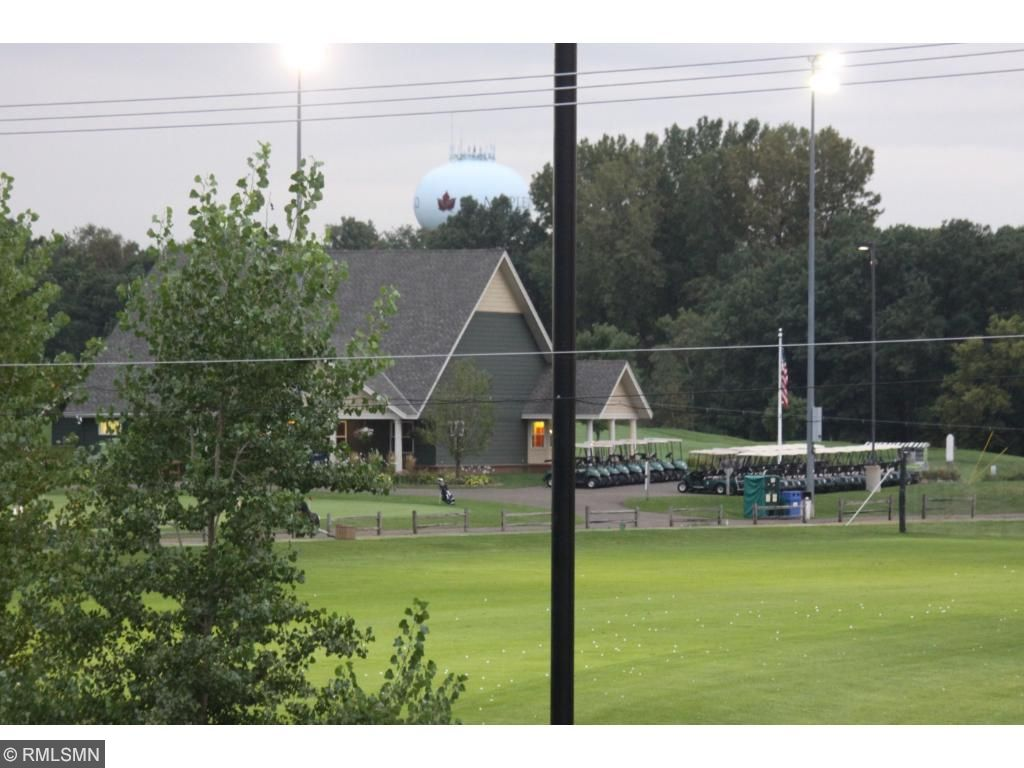 View of the clubhouse across the street.