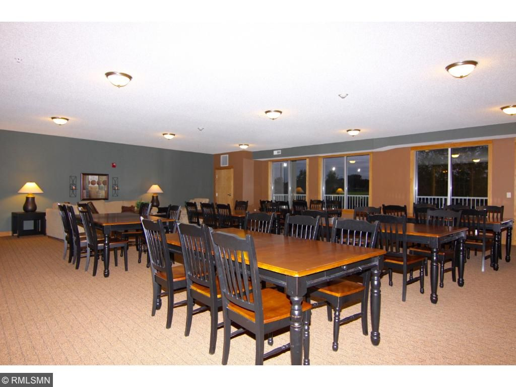 This large space is available by reservation and it has its own kitchen.