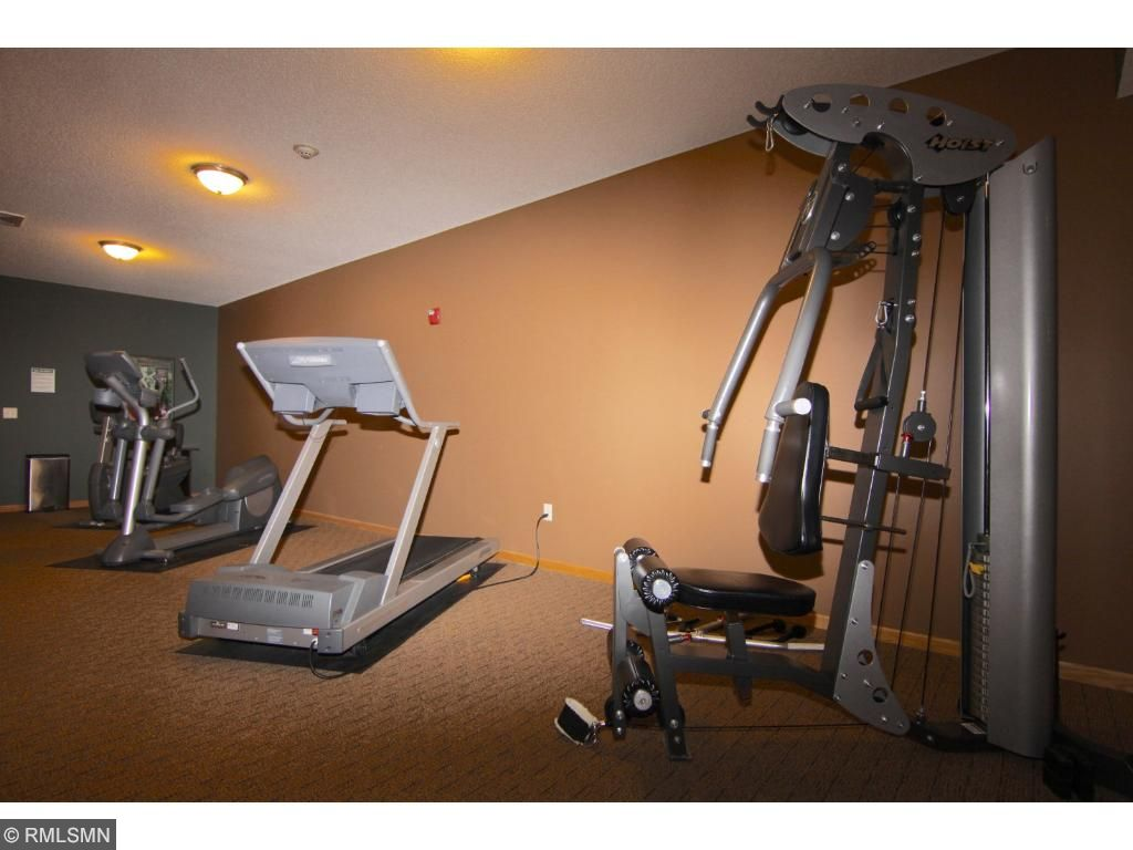 The second of two workout rooms.