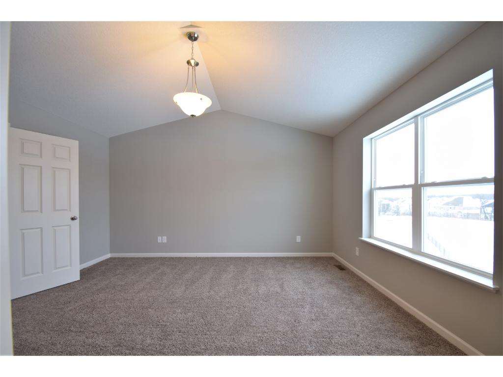 Large owners bedroom.  Photos are of same floor plan.  Options and color selections will vary.