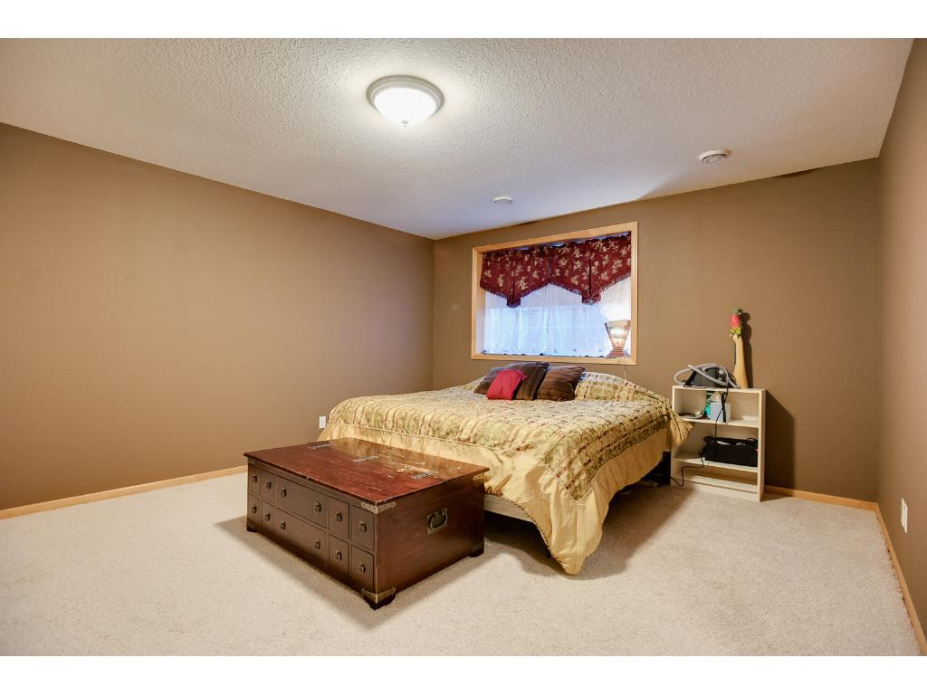 The lower level is very large and can be additional bedroom or a large family room space!