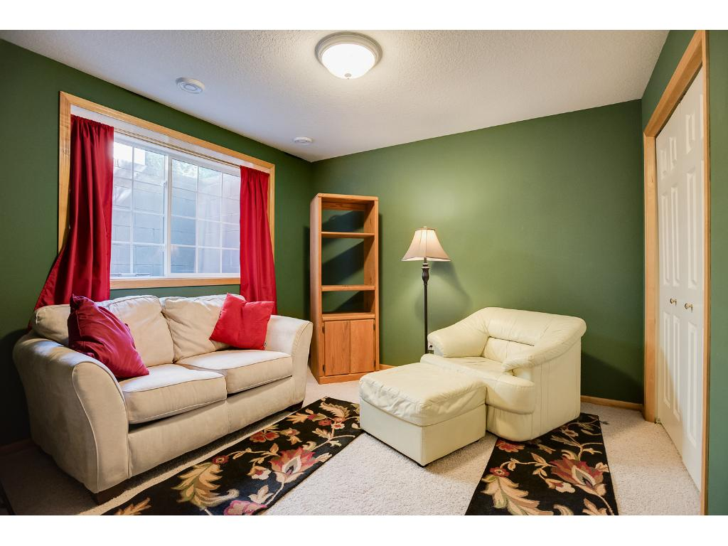 There is an additional bedroom in the lower level that can be used as a media room or an office!