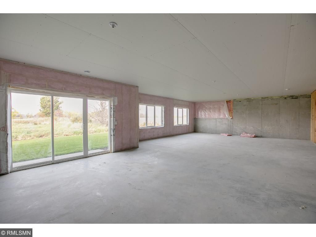Spacious unfinished walk out basement waiting for your finishing touches.