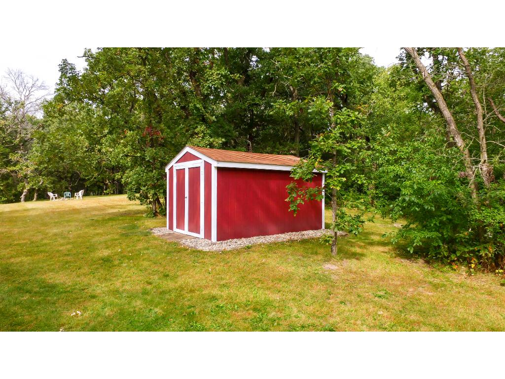 Storage shed in the backyard!