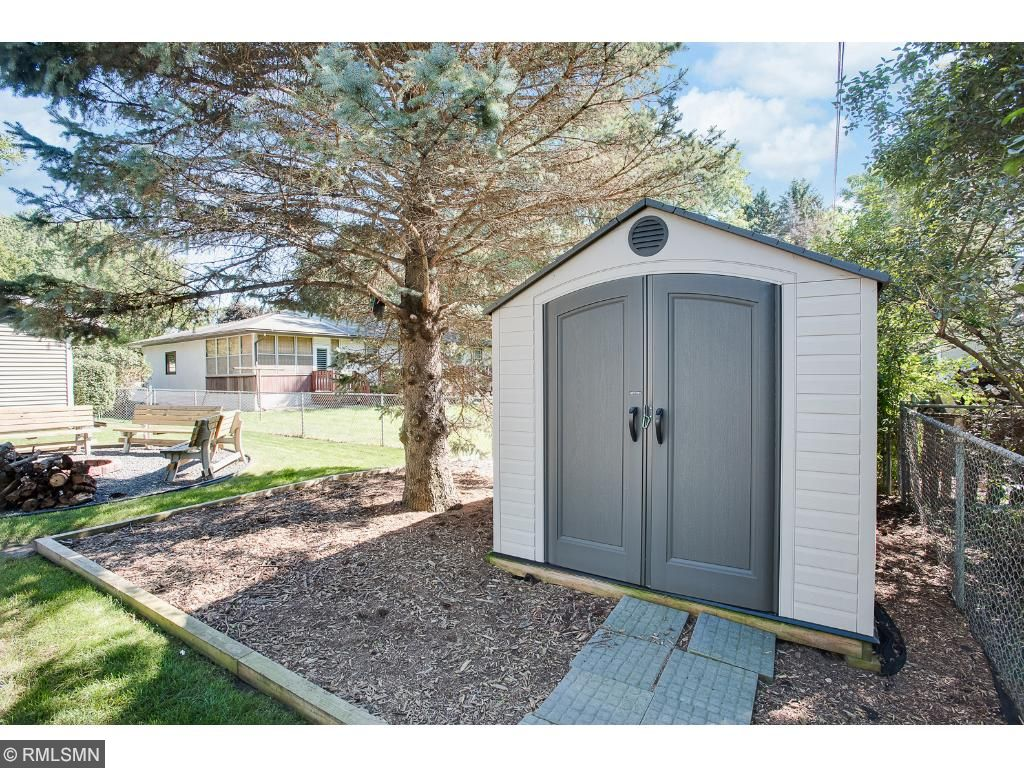 Storage shed installed in 2014