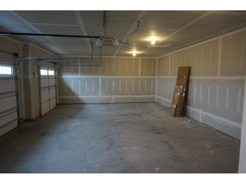 Sheetrocked & Insulated Garage!