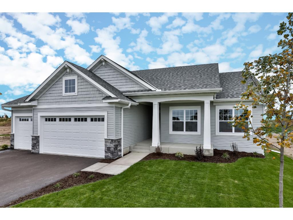 New Construction Rambler With Front Porch, Perfect Spot For Viewing Those  Sunsets